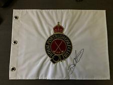 Royal Portrush Golf Flag. Darren Clarke Autograph