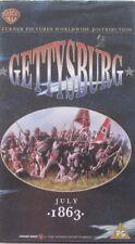 GETTYSBURG  - DOUBLE- VHS