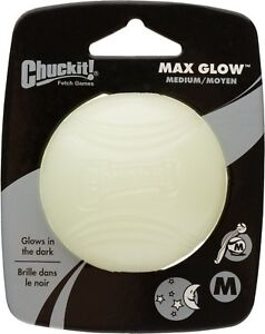 Chuckit Glow Ball, Small, Medium, Large and X-large