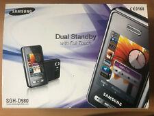 Samsung SGH D980 DUAL SIM 5MP Touchscreen  MP3 Radio