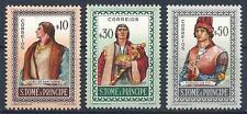 St Thomas & Prince Islands 1952 Sc# 357-59 Santarem Escobar de Po Portuguese MNH