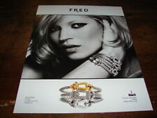 KATE MOSS - PUBLICITE FRED - COLLECTION FORCE 10 !!!!!!