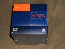Bach: Sacred Vocal Works 6 (CD, Sep-1999, 14 Discs, Teldec (USA))