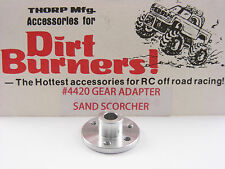 Vintage THORP Dirt Burners 4420 SRB Sand Scorcher Aluminum Spur Gear Adapter NEW