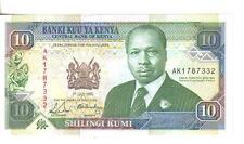 KENYA, 10  SHILLINGS, 1990, UNC