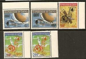 GUINEA SG684/88 APPOLLO 8 MNH