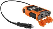 100 Watt Power Inverter RIGID Portable Car Phone Tablet Batteries Fan Cooled USB