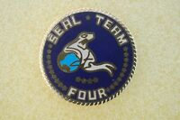 US USA USN Navy Seal Team Four Military Hat Lapel Pin