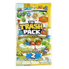 The Trash Pack Trading Cards Game Series 2 The Toilet Splash Sealed Pack