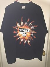 WCW NWO Illinois Lottery XL T~shirt *Hulk Hogan* *Goldberg* *Ric Flair* *Sting*