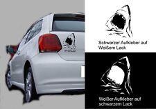 Auto - Aufkleber Sticker Tattoo - Haikopf Haimaul 20 cm Höhe 969