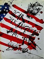 RALPH STEADMAN --SCAR STRANGLED BANGER - HARDBACK WITH DJ - 1987 - INSCRIBED