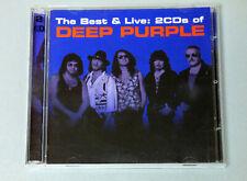 Deep Purple The Best & Live 2 CD