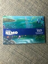 Nib D23 Finding Nemo 5 Collectible Postcards Limited Edition 775