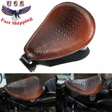 "3"" Spring Bracket Solo Seat Mounting Base Kit For Harley Sportster XL883 1200 48"