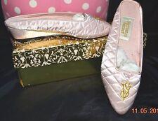 Victorias Secret Vintage Satin HOLLYWOOD GLAMOUR Mule Boudoir Slippers W/BOX S 6