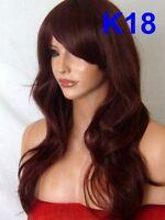 Fashion Women Long Curly Straight Wavy Full Hair Wigs Black Brown Blonde Wig 1