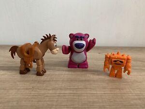 Genuine Lego Toy Story Mini figures X3 Lotso,Bullseye & Chunk In Ex Cond