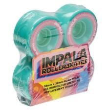 Impala Skate Wheel 58mmx32mm 82a Aqua - 4 Pack
