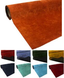 Plush Velvet Material Dressmaking Upholstery Curtain Blind Cushion Velour Fabric