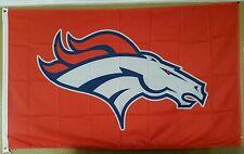 Denver Broncos 3ft x 5ft flag, banner, Orange Polyester, Super Bowl Champions