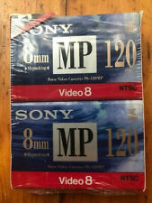 Sony 8mm Video8 sealed blank tapes (2)
