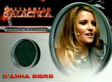 BATTLESTAR GALACTICA - XENA - LUCY LAWLESS AS D'ANNA BIERS - COSTUME CARD CC34