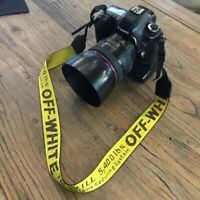Portable OFF White Collar Strap Camera Industrial Belt Neck Shoulder for DSLR