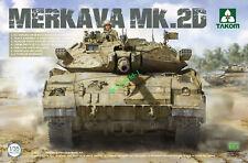 Takom 2133 1/35 SCALE MERKAVA MK.2D 2020 TANK MODEL