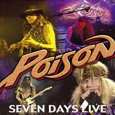 POISON - SEVEN DAYS-LIVE   CD NEU