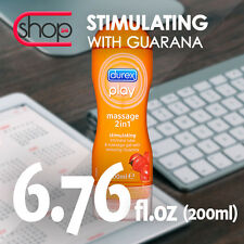 DUREX PLAY MASSAGE STIMULATING LUBE GEL LUBRICANT CE FREE FAST DISCREET DELIVERY