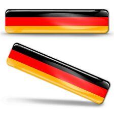 3D Gel Silikon Aufkleber Deutschland Deutsche Fahne Flagge Germany Flag Stickers
