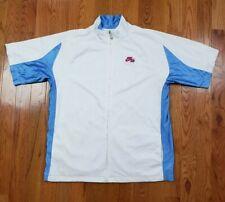 Nike Air Vtg Full Zip Warm Up Basketball Dri-fit Shirt Shortsleeve Jacket Xxl