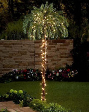 Lighted Palm Tree Tropical Garden Lights Large Pool Deck Patio Lawn Home Decor