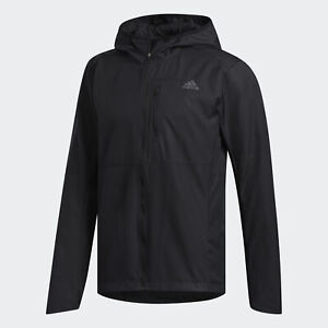 adidas AU Men Running Own The Run Hooded Wind Jacket