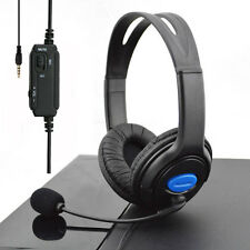 Wired Gaming Headsets Headphones Earbud with Mic for PS4 Sony PlayStation 4 PC