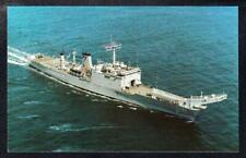 Amphibious Tank Landing Ship USS BOULDER LST-1190 Navy Ship Postcard