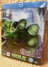 HULK (2003) BluRay Zavvi UK Exclusive Limited Ed. STEELBOOK w/ Lenticular Magnet