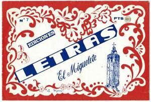 Letras No. 7. Ediciones El Miguelete