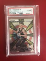 2018 Panini Prizm Freshman Phenoms Trae Young ROOKIE RC #21 PSA 10 GEM MINT