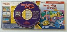The Learning Company Read, Write & Type  Windows 95 PC CD-ROM Macintosh