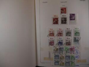 TREFF Sammlung Bund & Berlin aus 1977-1992 gestempelt KABE 960,- #267