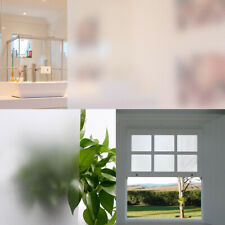Frosted Privacy Glass Cling Window Film Protector Sticker for Office Home DIY