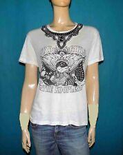 tee shirt THE KOOPLES en coton blanc cassé taille 1 ou 36/38 fr