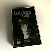 LOU REED - Live - Cassette Tape - EX (RARE!!!)