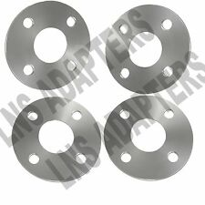 (4) 5mm Hubcentric 4x100 Wheel Spacers 57.1mm hub - fits Audi Volkswagen VW