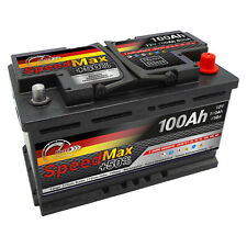 Batteria auto SPEED MAX L4100 100AH 850A 12V = FIamm 100Ah DX+ Pronta all'uso