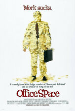 Office Space (1999) Movie Poster Version A, Original, DS, Unused, NM, Rolled