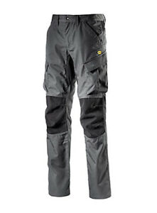 Pantalone pantaloni da lavoro DIADORA Utility Cargo Ripstop stretch grigio