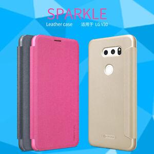 For LG V30+ Plus Case, Nillkin Sparkle Leather Case Protective Case For LG V30+